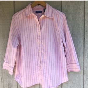 Karen Scott Button Up Shirt